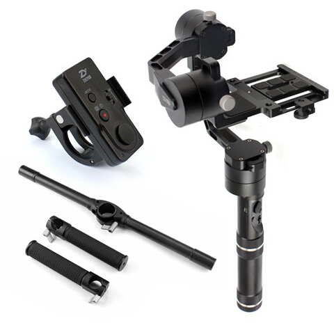 Zhiyun Crane Stabilizer Gimbal for 1.8KG DSLR Canon Cameras With Case New Remote Control Extended Dual handheld Kit F18164-A zhiyun crane m crane m 3 axis brushless handle gimbal stabilizer for smartphone mirroless dslr gopro 125g 650g