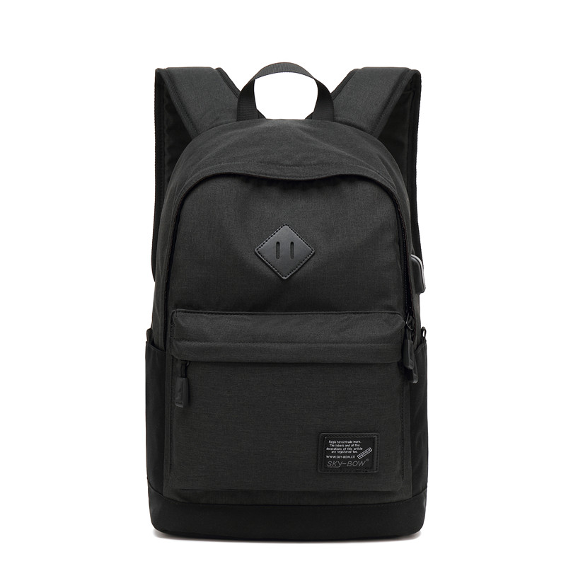 15 Inch Laptop Bag 2018 New Casual Waterproof Backpack 5875 Men High Quality Oxford Pack Male Cool School USB Bags For Teenager