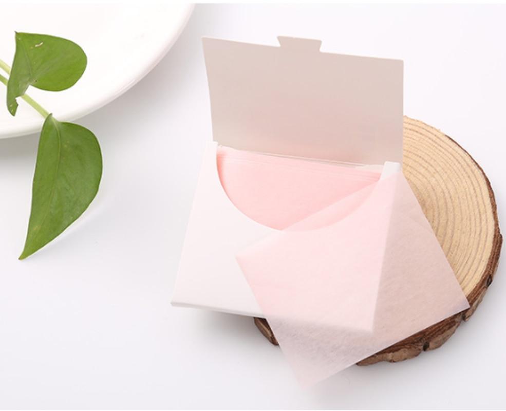 50Pcs Sheets Pack Flamingo Makeup Facial Face Clean Oil Absorbing Blotting Papers Beauty Tools Pattern Random