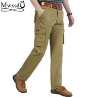 High Quality 2016 Autumn Winter Men S Casual Outdoor Sports Cargo Pants Male Multi Pocket Cotton