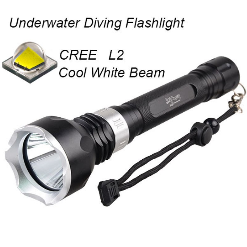 Underwater Diving Flashlight Torch Cree XPL XM-T6 led Light diver Lamp Waterproof 18650 rechargeable battery white light 100m underwater diving flashlight led scuba flashlights light torch diver cree xm l2 use 18650 or 26650 rechargeable batteries