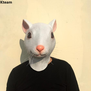 Adults Mouse Head Latex Mask F