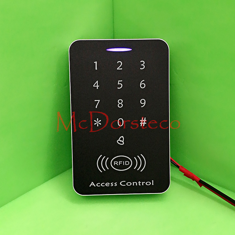 125khz RFID Proximity Card Access Control System RFID/EM Keypad Card Access Controller Door Opener Master Controller hot sale 1000 card capacity proximity card 125khz em card door access control system without software single door control