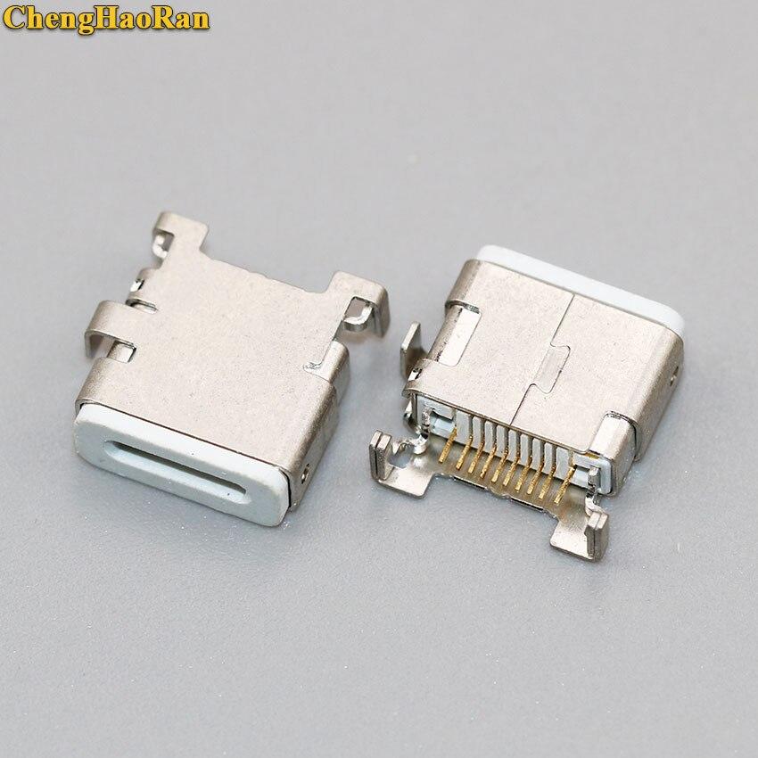ChengHaoRan 1-5pcs For Apple IPhone 5 5S 6 Test Female Test Phone Charging Port USB Jack Socket Connector Data Port