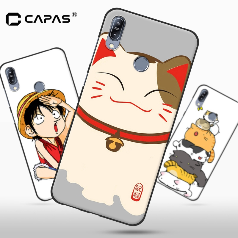 Patterned Case For Asus Zenfone Max (M2) ZB633KL Case Silicone Cover Soft 3D Cartoon Phone Case Shockproof Protective Shield