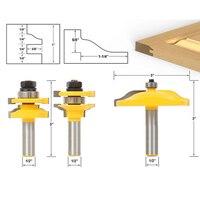 3 Bit Raised Panel Cabinet Door Router Bit Set 1 2 Inch Milling Cutter
