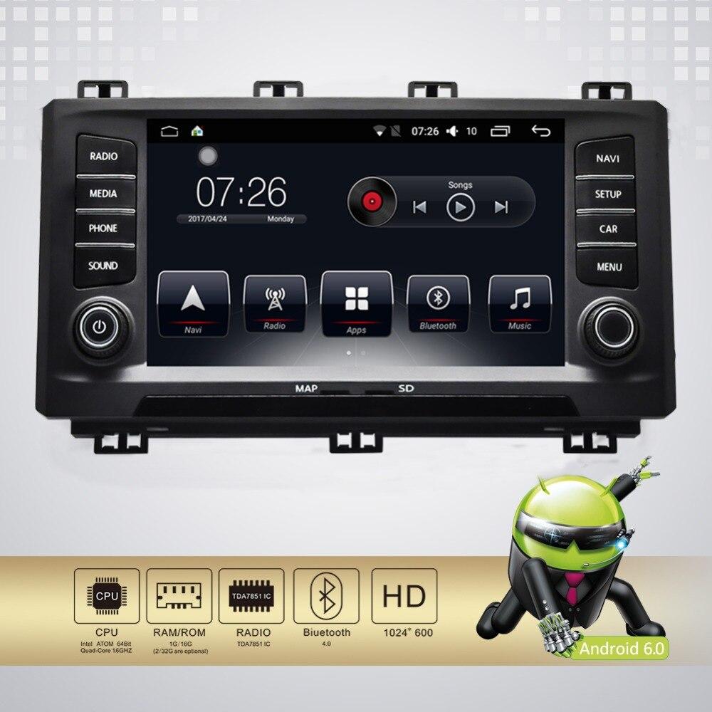 Android 7.1 8 pouce Tactile Écran GPS Navigation Multimédia radio Lecteur DVD WiFi/Miroir Lien/bluetooth/pour siège Ateca 2016-2017