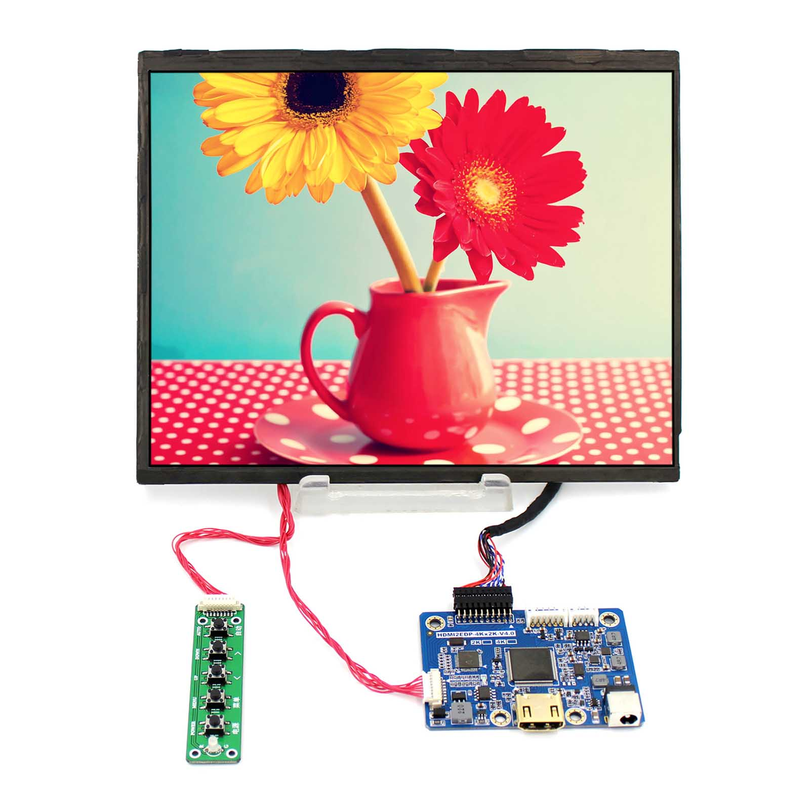 VS HDMI2EDP LP097QX1 2048X1536 Resolution 9.7inch EDP Interface IPS LCD Screen HDMI LCD Controller Board vga hdmi lcd edp controller board led diy kit for lp116wh6 spa1 lp116wh6 spa2 11 6 inch edp 30 pins 1lane 1366x768 wled ips tft