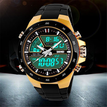 Skmei Brand sports watches Mens Relojes LED Digital Watch Shock Resist Fashion Casual Quartz-Watch Army Military Men Wristwatch