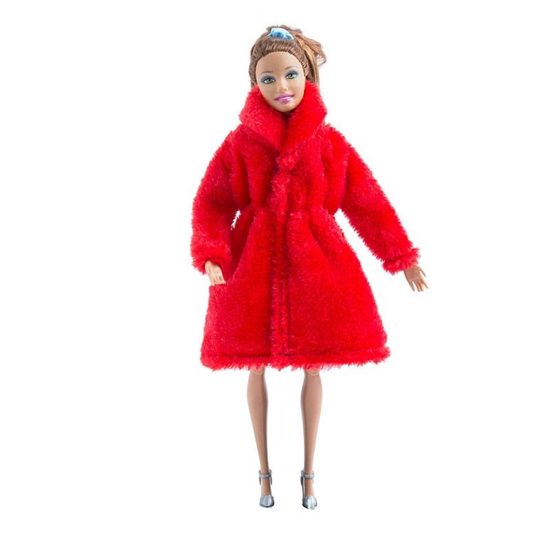 LeadingStar Doll Beauty High Grade Plush Coat Clothes Accessories for Barbie as Perfect Girl Christmas Gift zk25