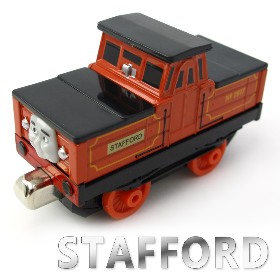 Diecasts Vehicles Thomas T127D STAFFORD Thomas And Friends Magnetic Tomas Truck Locomotive Engine Railway Train Toys for Boys