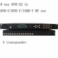 Modulador do codificador de dvb-t/DVB-C  8 maneira dvb-s2 ao modulador de dvb-c catv  dvb-t2 ao elevado desempenho do modulador de dvb-t