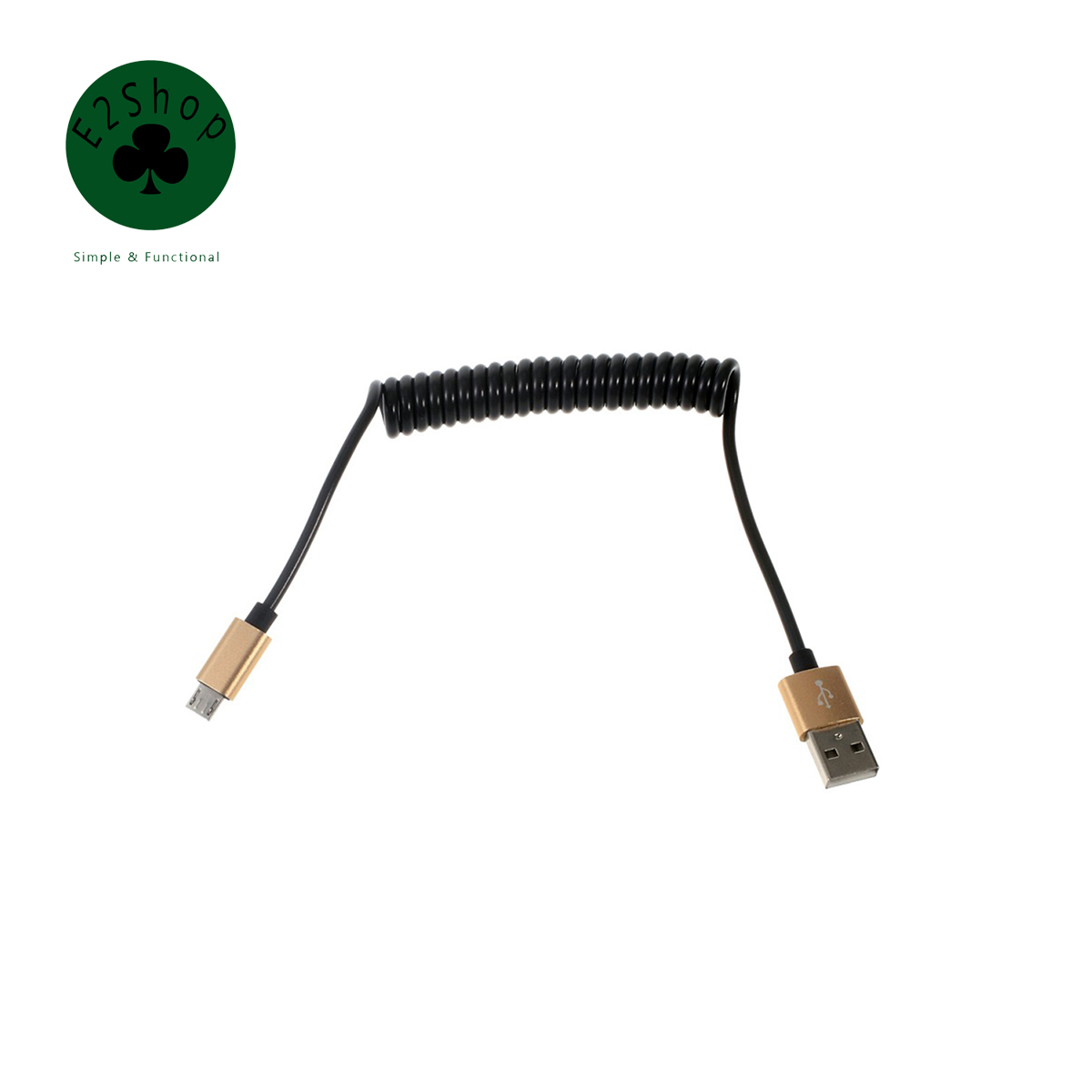 【ᗑ】Universal Spring Coiled V8 Micro ③ / / Lightning to USB