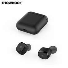 Showkoo Wireless Bluetooth Headphones Tws Bluetooth 5.0 With Mic Bluetooth Earphone For Nokia 8 7 Plus 6 Asus Zenfone 5 Ze620kl