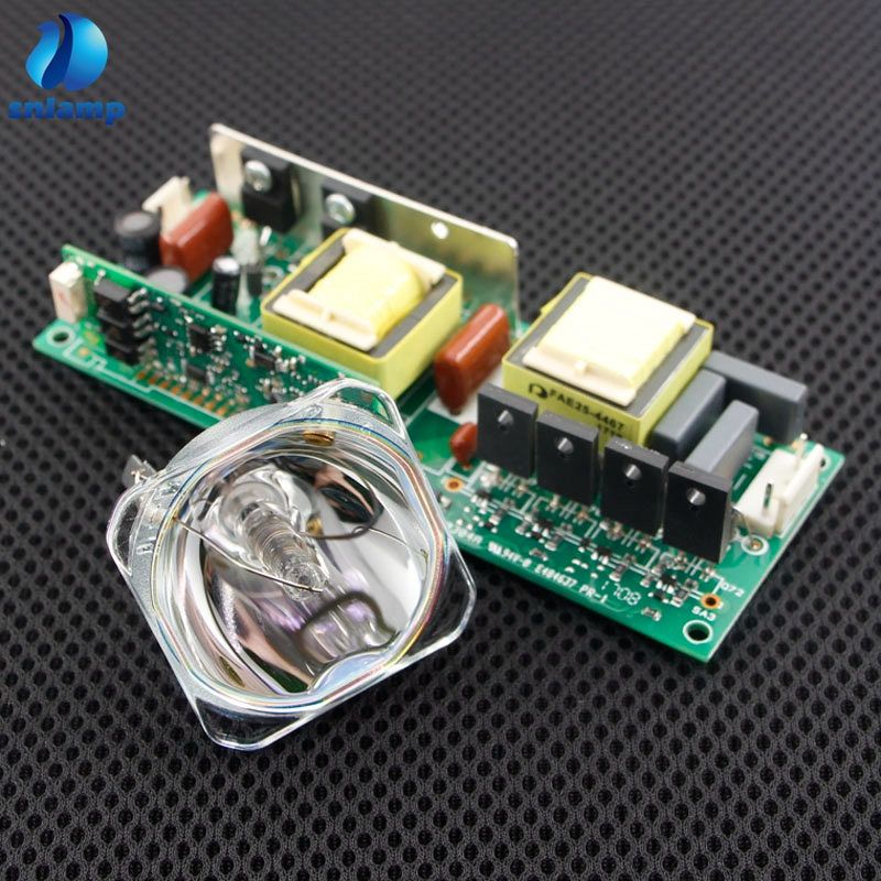 High quality 2R Power supply ballast 135W 2R Lamp MSD Platinum R2 for Sharpy Moving head beam light bulb stage light R2 LAMP-in Projector Bulbs from Consumer Electronics    1