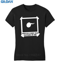 Summer Clothing Crew Neck This Is An Old Picture Of Me Funny Juniors Rude Sex Adult