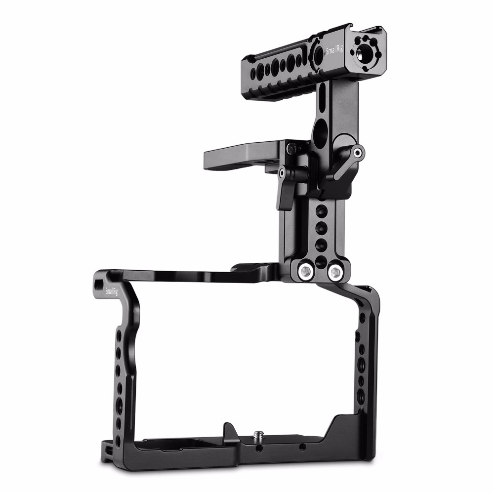 SmallRig Camera Cage with Helmet Kit for Panasonic GH5 / GH5S Formfitting Cage Kit With Top Handle - 2052 kitrcp268888gyuns03008 value kit rubbermaid slim jim handle top rcp268888gy and unisan plunger for drains or toilets uns03008