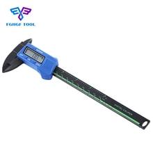 Buy online FGHGF 150mm 6inch LCD Digital pachometer Electronic Carbon Fiber Vernier Caliper calipers Gauge Micrometer Measuring Tool