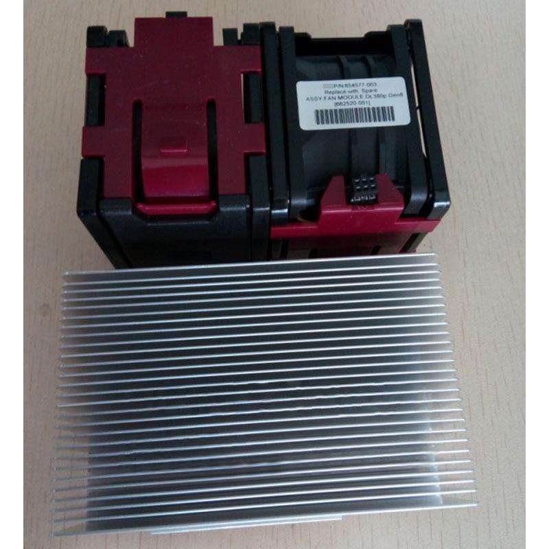 For HP DL380 DL380p G8 Xeon V2 CPU Kit Heatsink 662522-001 & 2 Fans 654577-001 Cooling Fan Processor Cooler  Heatsink FanFor HP DL380 DL380p G8 Xeon V2 CPU Kit Heatsink 662522-001 & 2 Fans 654577-001 Cooling Fan Processor Cooler  Heatsink Fan
