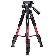 Professional Fidget Spinner Camera Tripod Zomei Q111 Accessories Photography Portable Aluminum Tripod For Nikon Canon Cameras