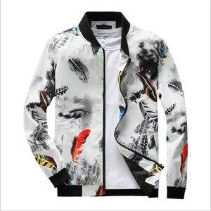 2019 primavera outono hip hop jaqueta masculina fino ajuste flores piloto bombardeiro jaqueta masculina gola casacos roupas masculinas eua tamanho 4xl