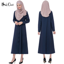 Muslim Women Cardigan long Dress Turkish Woman clothing Islamic abaya clothes Turkey Jilbab and Abayas Robe