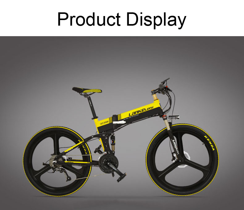 "HTB1neT4aHArBKNjSZFLq6A dVXaE - XT750 Sport, 27 Pace Folding Electrical Bike, 26"", 48V/10A, 240W, Oil Disc Brake, 5 Grade Help Mode, Highly effective Battery"