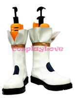 Magical Girl Lyrical Nanoha Takamachi Nanoha Battle Mode Version Cosplay Shoes Boots Hand Made Custom Made