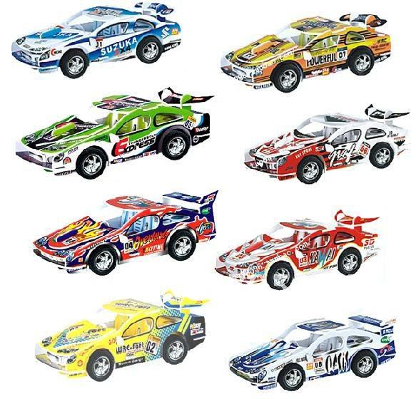 US $28 0 |DIY Models,Home Adornment 3D puzzle Xpand Rally car models set  ,Paper craft,racing Card model-in Puzzles from Toys & Hobbies on