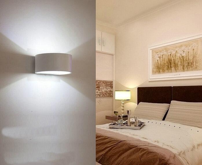 modern 3w simple ideas led aluminum wall lamp corridor hallway bedroom bedside lamp bar ktv light bedside lighting ideas
