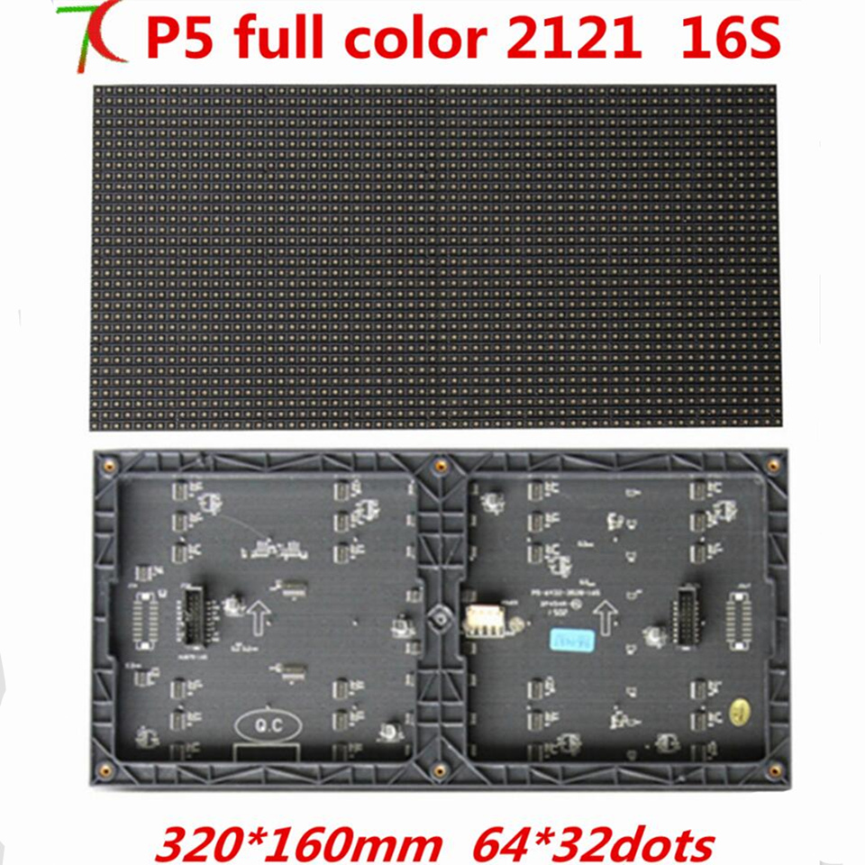 P5 indoor smd2121 black modules for fix installation led display