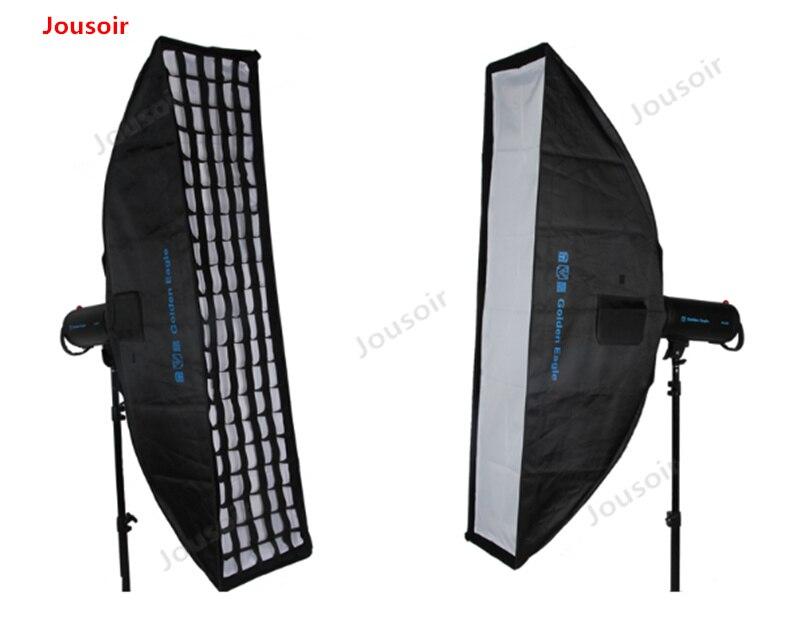 20*90 cm grille softbox long ruban doux boîte à lumière avec raster photographique lampe softbox CD50 T03