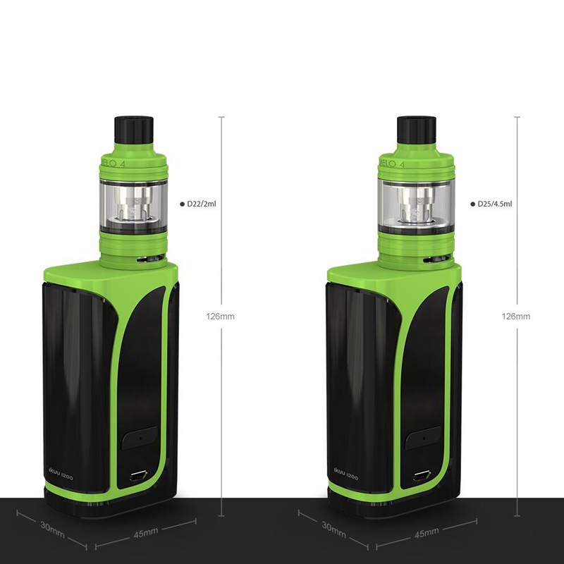 Image 5 - Original Eleaf iKuu i200 with MELO 4 D22 Tank 2ML 4.5ML 4600mAh 