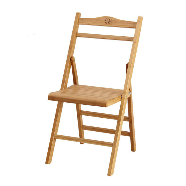 Bamboo Folding Chair Bedroom Amazon Household Portable Child Outdoor Fishing