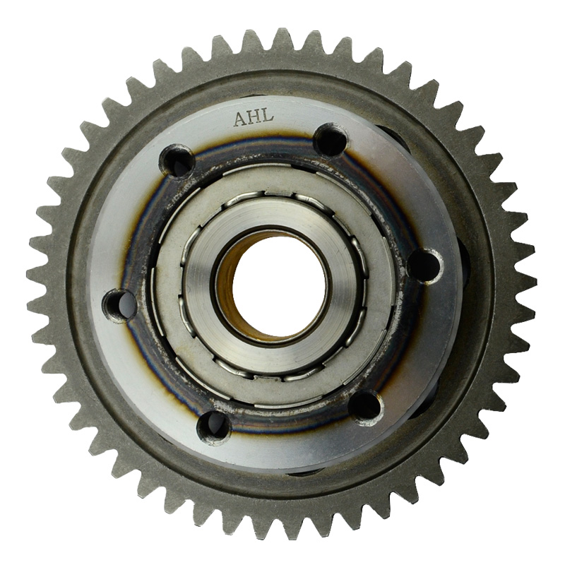 Motorcycle One Way Bearing Starter Clutch Gear & Flywheel & Beads For Yamaha YP250 YP 250 / MAJESTY 250 / LINHAI 250 motorcycle cylinder kit 250cc engine for yamaha majesty yp250 yp 250 170mm vog 257 260 eco power aeolus gsmoon xy260t atv page 2