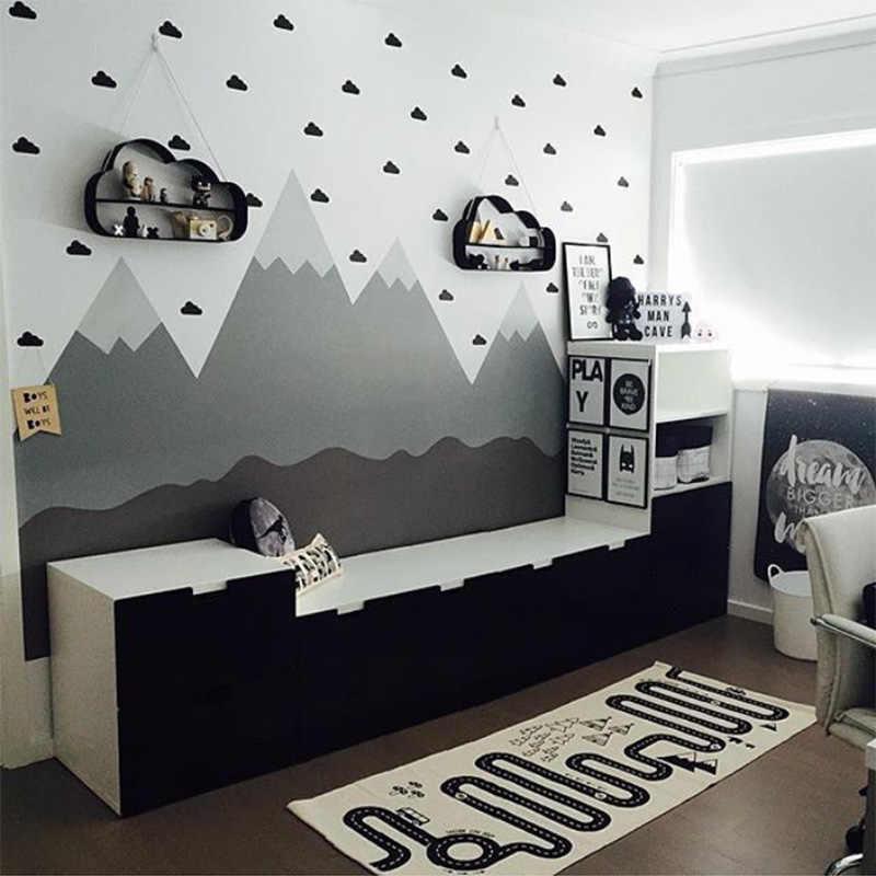 Kleine Wolke Dekorative Aufkleber Baby Junge Zimmer Wand Aufkleber Für Kinderzimmer Kindergarten Mädchen Zimmer Wand Aufkleber Aufkleber Kinder Schlafzimmer