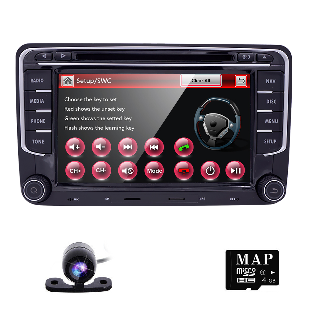 Mk5 mk6 golf gti 2016 car golf mk5 radio golf mk5 mk6 car stereo dvd - Freeshipping 2din Android Auto Dvd Radio For Volkswagen Passat Jetta Golf Mk5 Mk6 B6 B7 Auto