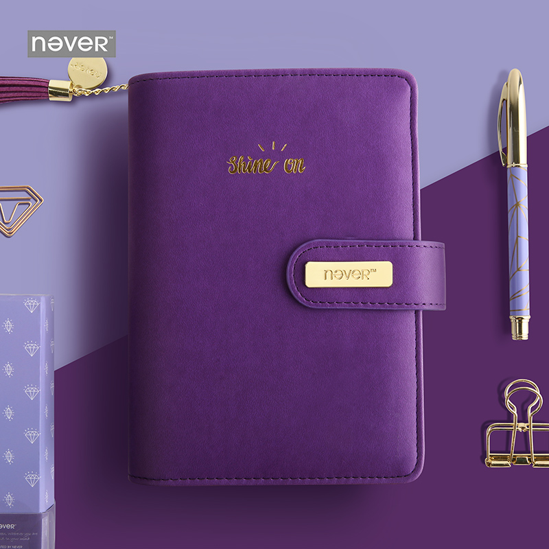 Never Diamond Notebooks And Journals Personal Spiral Planner A6 Organizer Agenda 2018 Korean Stationery Office & School Supplies small binder a5 organizer notebooks and journals diary agenda spiral book stationery pu leather cover for students gilrs kids