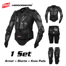 HEROBIKER Motorcycle Protection Motorcycle Armor Moto Protective Gear Motocross Armor Racing Full Body Protector Jacket Knee