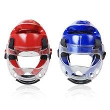 Шлем для тхэквондо, для взрослых, молодых детей, для спорта, для борьбы с лицом, для защиты головы, съемная прозрачная маска для бокса, ММА, каратэ