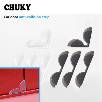 CHUKY Car Door Edge Anti Collision Avoidance Decoration Sticker For BMW E46 E39 E60 E90 E36 F30 F10 X5 E53 E34 E30 Mini Cooper image