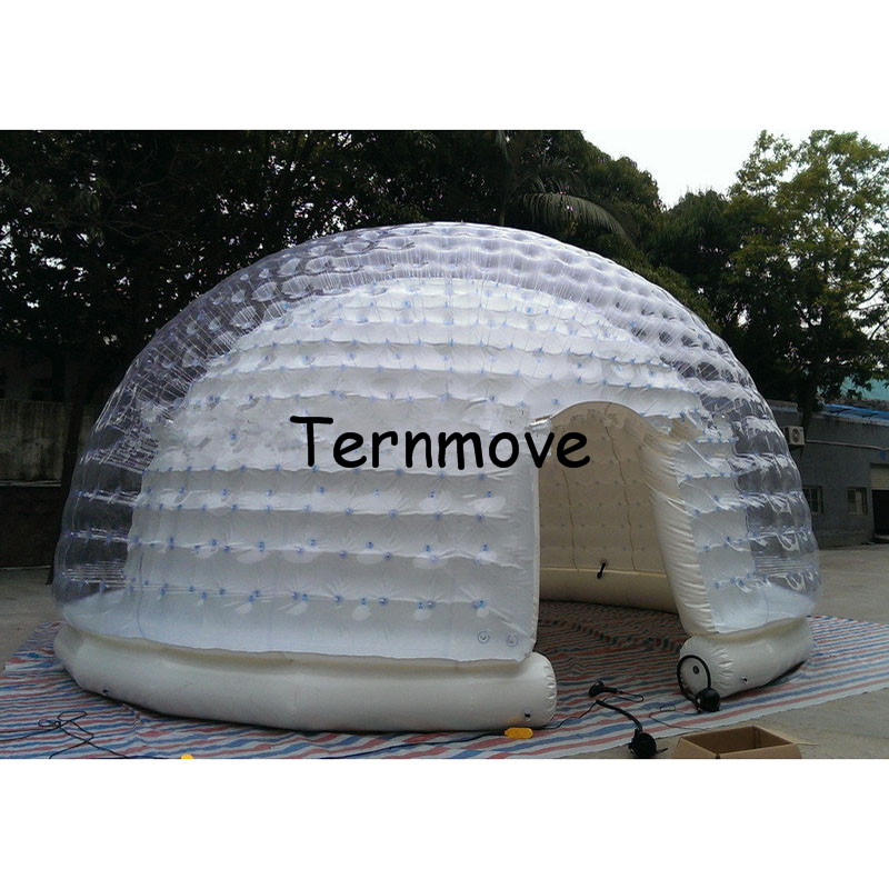 Clear_inflatable_tent_inflatable_igloo_dome_tent