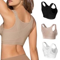 Women Seamless Comfortable Push Up X-bra Sports Firm...