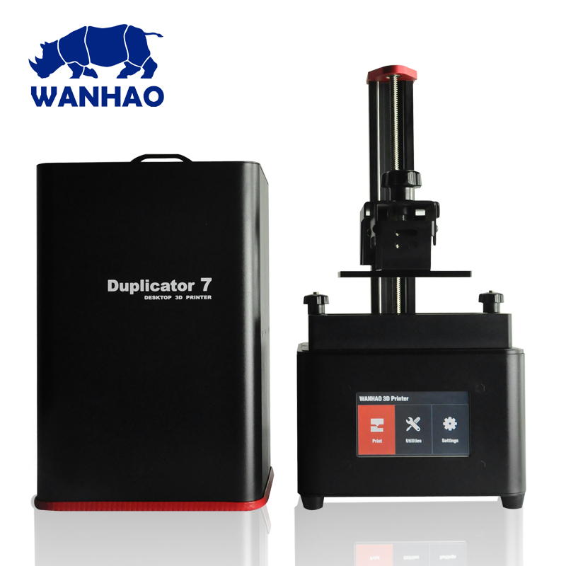 2018 newest WANHAO D7 PLUS Resin Jewelry Dental 3D Printer , Cheap Personal desktop dlp sla LCD printing machine 3d printer 3d printer d7 v1 4 from wanhao factory lcd sla dlp printer for dentist and jewelry wifi box