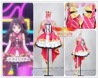 Custom Made The Idolmaster 2 Cinderella Girls Shimamura Uzuki Stage Cosplay Costume