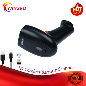 Yanzeo L1010 C2010 Wireless Portable PDF417 1D/QR Code Barcode Scanner For POS System Warranty 12 Months|Scanners| |  -