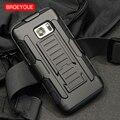 Broeyoue Броня чехол для Samsung Galaxy S3 S4 S5 S6 S7 S8 Edge Plus Примечание 2 3 4 5 Coque сотовый телефон случаях чехол противоударный Fundas - фото