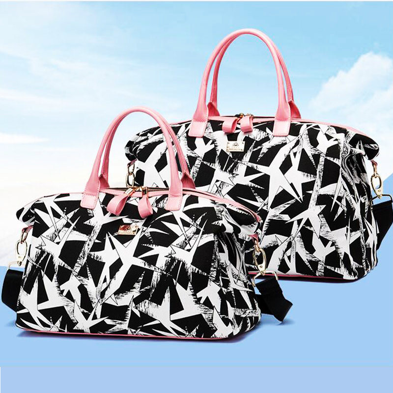 Hot Sale Canvas Gym Bag For Women Large Capacity Duffel Bag Outdoor Ladies  Travel Storage Handbag New Style Sport Crossbody Bag-in Gym Bags from Sports  ... 9715537067