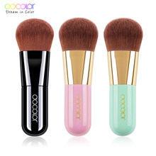 Docolor Best Foundation Brush Pink /Black/ Green Makeup Brush with Box Fast Make up Brushes Beauty Essential Makeup Tools(China)