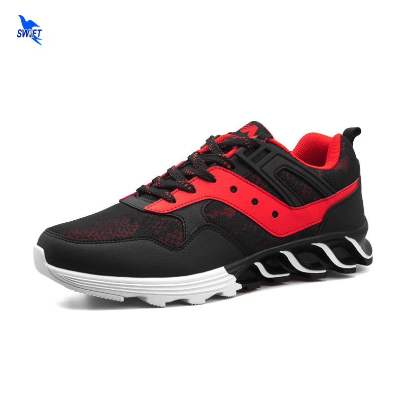 2018 Mens Sneakers Running Jogging Shoes Comfortable Cushioning Sports Shoes Mesh Fabric Breathable Athletics Walking Shoes Male